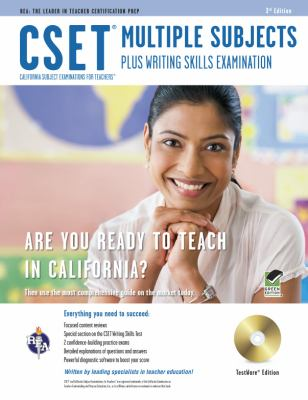CSET Multiple Subjects Plus Writing Skills Examination [With CDROM] 9780738609980