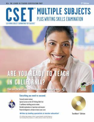 CSET Multiple Subjects Plus Writing Skills Examination [With CDROM]