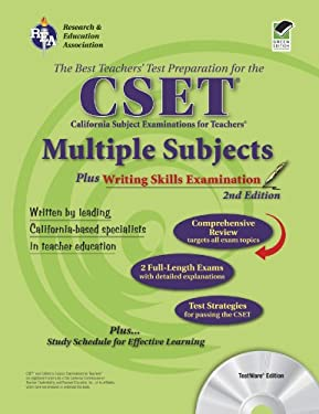 CSET multiple subjects plus writing skills [With CDROM] 9780738603353