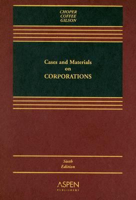 Cases and Materials on Corporations 9780735539839