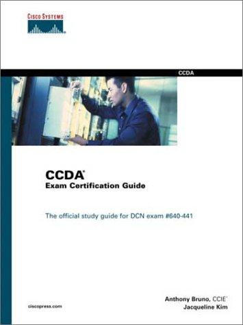 Ccda Exam Certification Guide: The Official Study Guide for Dcn Exam#640-441 [With CDROM] 9780735700741