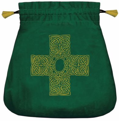 Celtic Cross Velvet Bag 9780738715322