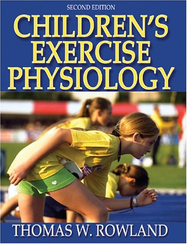 Children's Exercise Physiology 9780736051446