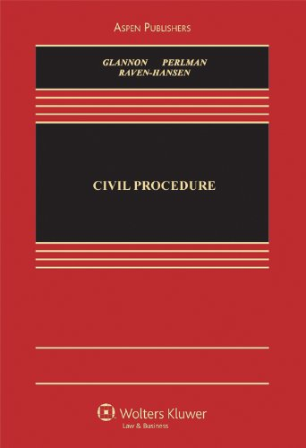 Civil Procedure: A Coursebook 9780735597891