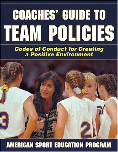 Coaches' Guide to Team Policies 9780736064477