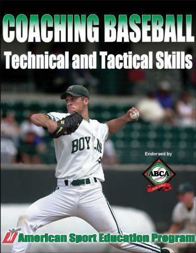 Coaching Baseball Technical and Tactical Skills 9780736047036