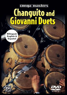 Conga Masters: Changuito and Giovanni Duets (Spanish, English Language Edition), DVD 9780739040263
