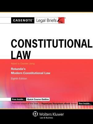 Constitutional Law 9780735570436