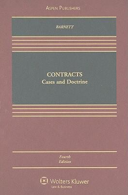 Contracts: Cases and Doctrine 9780735563469