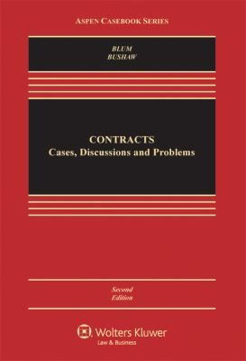 Contracts: Cases, Discussion, and Problems 9780735570696