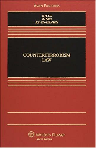 Counterterrorism Law 9780735565593