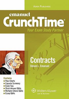 Emanuel Crunchtime: Contracts 9780735589957