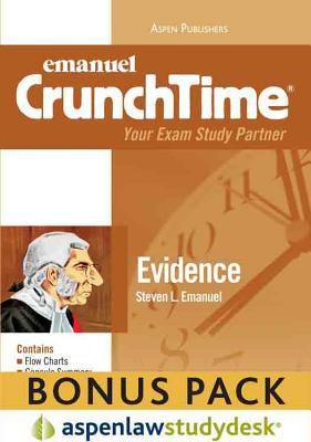 Crunchtime: Evidence 2010 Studydesk Bonus Pack 9780735599307