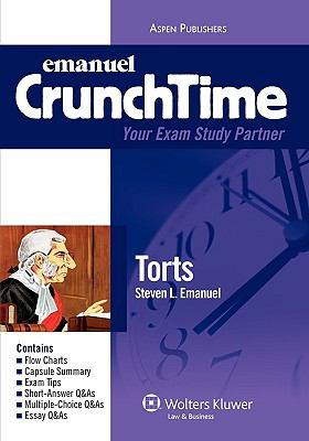 Emanuel Crunchtime: Torts 9780735570566