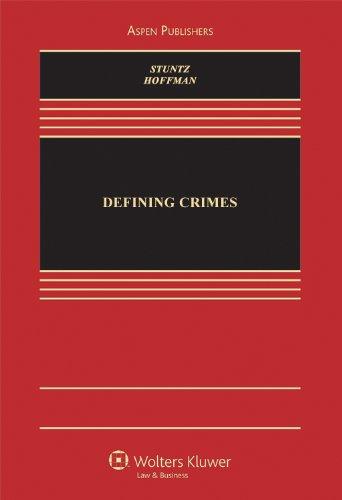 Defining Crimes 9780735507630