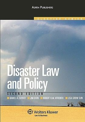 Disaster Law and Policy