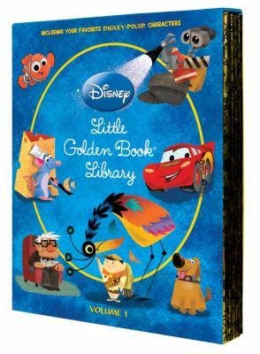 Disney/Pixar Little Golden Book Library 9780736426718