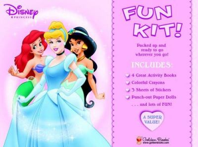 Disney Princess Fun Kit 9780736423359