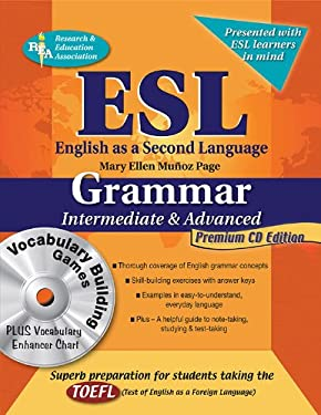 ESL Intermediate/Advanced Grammar W/ Vocab Builder CD-ROM 9780738604688