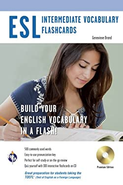 ESL Vocabulary Flashcards [With CDROM] 9780738609096