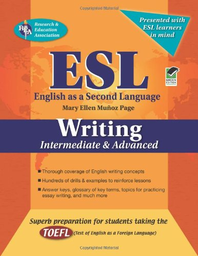 ESL Writing: Intermediate and Advanced 9780738601229