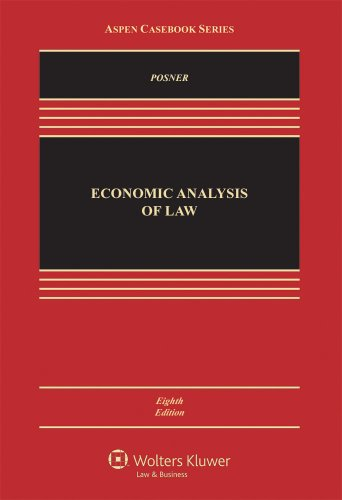 Economic Analysis of Law 9780735594425