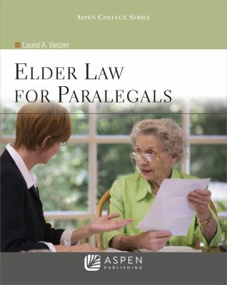 Elder Law for Paralegals 9780735508675