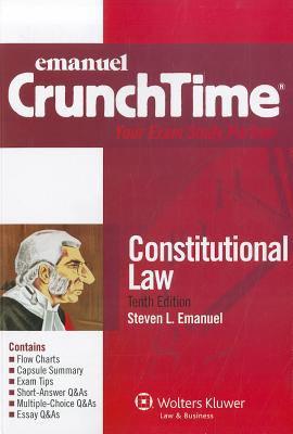 Emanuel Crunchtime: Constitutional Law 9780735508156