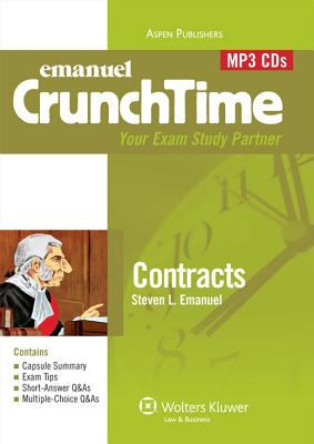 Emanuel Crunchtime: Contracts 9780735599499