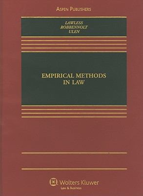 Empirical Methods in Law 9780735577251