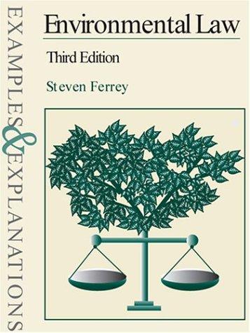 Environmental Law 9780735540132