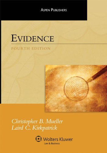Evidence - 4th Edition