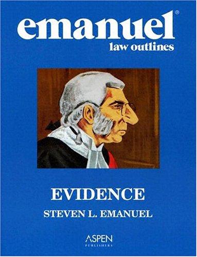 Evidence 9780735540040