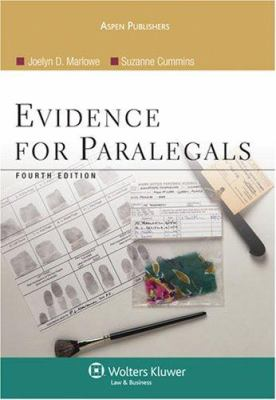 Evidence for Paralegals 9780735558526