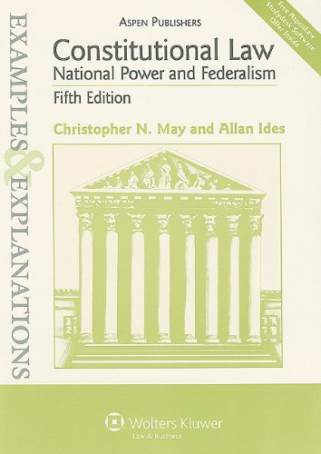 Constitutional Law: National Power and Federalism 9780735588271