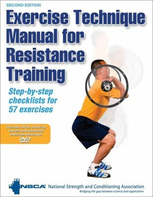 Exercise Technique Manual for Resistance Training [With 2 DVDs] 9780736071277