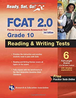 FCAT 2.0 Grade 10 Reading & Writing Tests 9780738610214