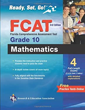 FCAT Mathematics, Grade 10 9780738609737