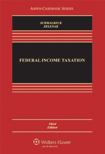 Federal Income Taxation, Third Edition 9780735592513