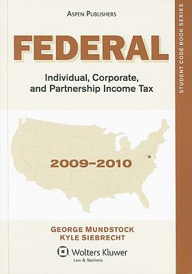 Federal Individual, Corporate, and Partnership Income Tax [With CDROM] 9780735588318