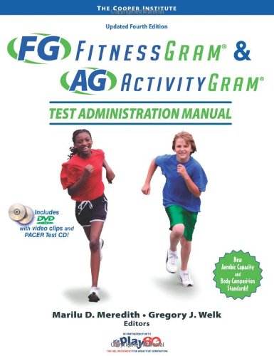 Fitnessgram & Activitygram Test Administration Manual-Updated 4th Edition 9780736099929