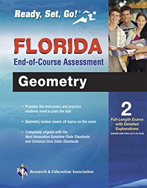 Florida Geometry End-Of-Course Assessment 9780738611129
