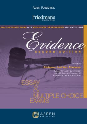 Friedman's Practice Series: Evidence 9780735586246