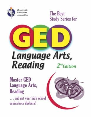 GED Language Arts, Reading: The Best Study Series for GED