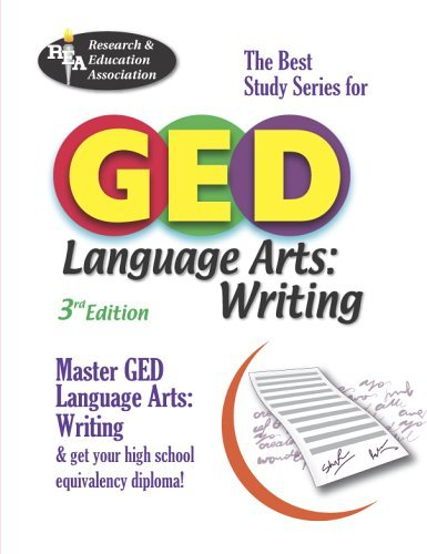 GED Language Arts, Writing: The Best Study Series for GED 9780738601038