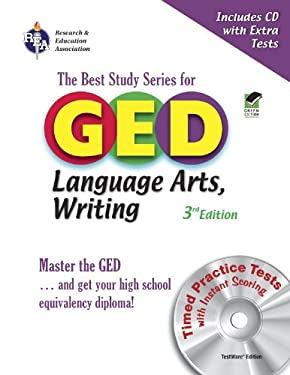 GED Language Arts, Writing: The Best Study Series for the GED [With CDROM] 9780738602295
