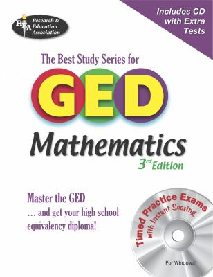 GED Mathematics: The Best Study Series for GED [With CDROM] 9780738602271