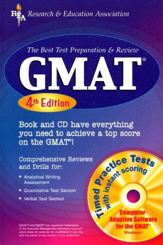 GMAT: The Best Test Preparation & Review [With CDROM] 9780738600819