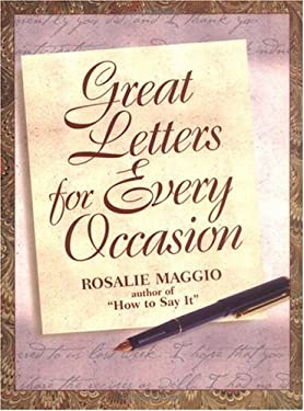Great Letters for Every Occasion 9780735200814