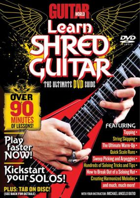 Guitar World -- Learn Shred Guitar: The Ultimate DVD Guide, DVD 9780739059111